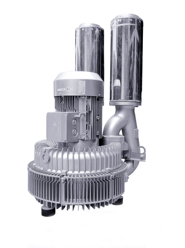 Industrial Double Stage Vortex Air Blower , High Rate Side Channel Vacuum Pump